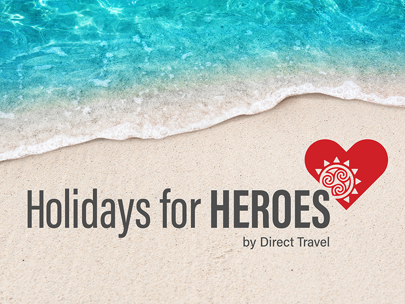 Direct Travel Launches Holidays for Heroes
