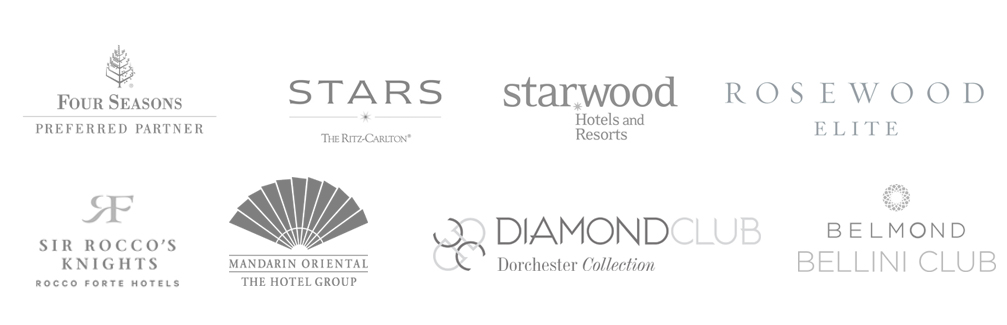 Hotels & resorts logos