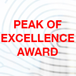 Peak of Excellence Award