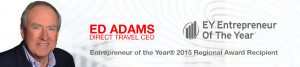 Ed Adams, Entrepreneur of The Year 2015 Regional Award Recipient